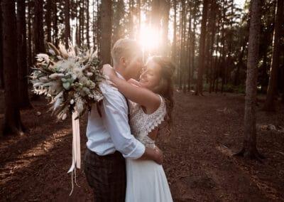 Inspiration-Hochzeit-Konzept-Hochzeitsplaner-Weddingplanner-Duesseldorf-wald-sunset